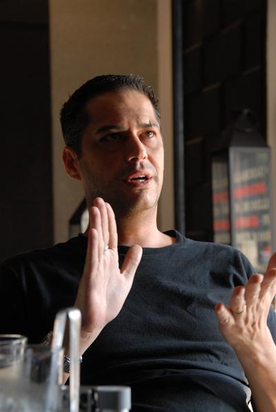 French chef Gregory Louraichi (MA LI)